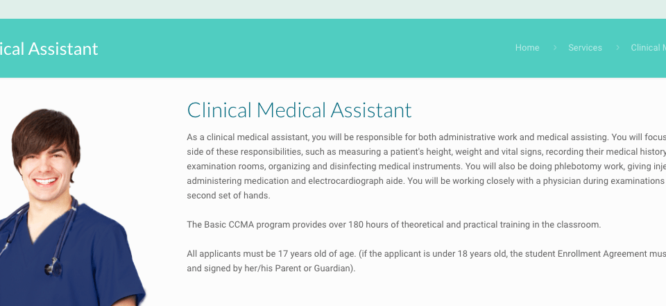 Clinical Medical Assistant Course